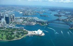 TOP 10: Touring over Sydney