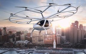 Volocopter geselecteerd als de 'Technology Pioneer' door het World Economic Forum