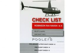 Doe hier je Robinson R44 preflight check - deel 2 in de cockpit