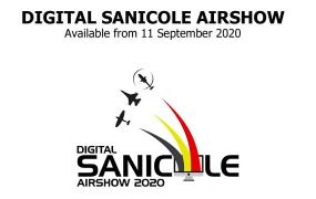 Digitale Sanicole Airshow op 11 september 2020