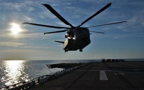 CH-53K King Stallion finaliseert zijn marinetesten op zee