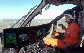 Geen fly-by-wire maar wel een full time autopilot in de Airbus H160