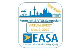 UPDATE: EASA Rotorcraft & VTOL Symposium 2020 op 9 december