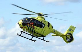 Incident met Lifeliner 1 boven Noorderplassen in Almere
