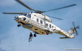 Minister: NH90's in 2024 operationeel vanop luchthaven Oostende (B)