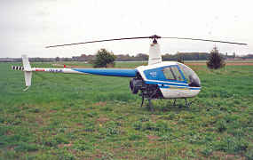 OO-RJR - Robinson Helicopter Company - R22 Beta
