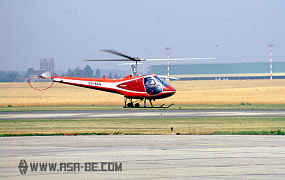 OO-BAN - Enstrom Helicopter - F-28A