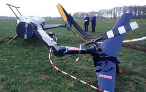 Crash met Robinson R-44 callsign OO-RFF